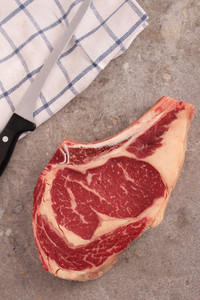 Large Aged Beef Rib Steak
