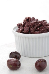 Olive Tepenade In Dish