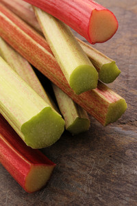 Fresh English Forced Rhubarb