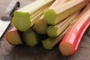 Fresh English Forced Rhubarb