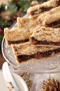 Mincemeat Christmas Slice