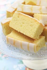 Fresh Baked Lemon Sponge Biscuits