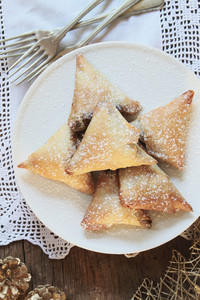 Christmas Mincemeat Samosas