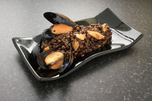 Mussels With Lentils