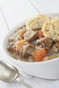 Irish Stew Plated Meal