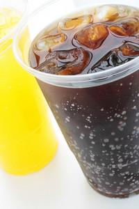 Fizzy Drinks In Plastic Beakers