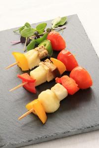 Vegetable Kebab Canape
