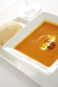 Fresh Soup Appetizer Starter