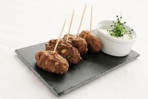 Mini Kofte Shish Kebabs Canape Starter