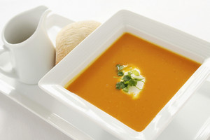 Fresh Soup Appetizer Starter