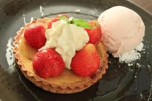 Fresh Strawberry Tart Dessert
