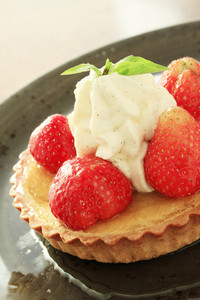 Fresh Strawberry Tart Dessert