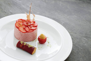 Strawberry Mousse Dessert