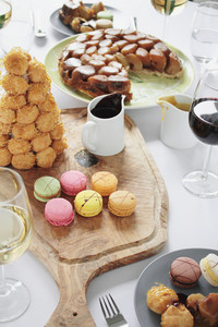 Sharing Mixed Desserts