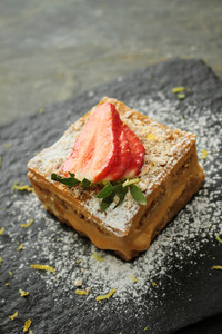 Panna Cotta Tirimasu Dessert