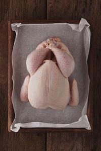 Prepared Raw Chicken