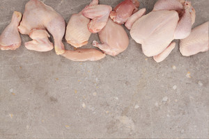 Raw Chicken Cut Selection