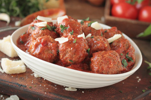 Italian Meatballs With Spaghetti