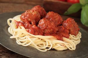 Italian Meatballs With Spaghetti