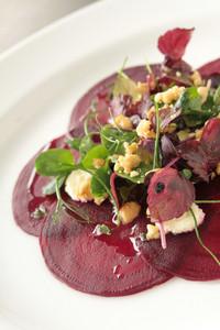 Cooked Beetrood Salad Appetizer Starter