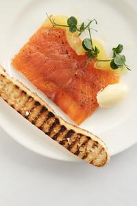 Smoked Salmon Appetizer Starter