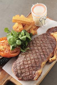 Sirloin Steak Plated Meal