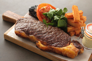 Sirloin Steak Plated Meal