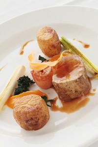 Plated Pork Loin Dinner