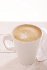 Mug Of Cappuccino Coffee