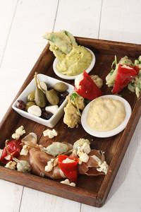 Contemporary Tappas Platter