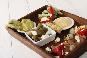 Contemporary Tappas Platter