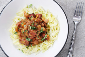 Chorizo And Chcikpea Stew