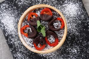 Mini Chocolate Tarts With Chili