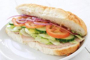 Ham Salad Sub Sandwich Baton