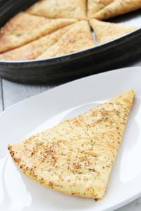 Pizza Slice On Plate