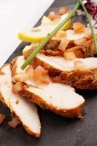 Sliced Chicken Tikka Platter
