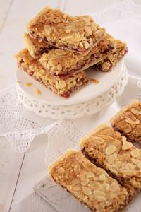 Almond Slice Cake Dessert