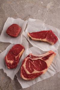 Raw Prime Meat Beef Pork Lamb Cuts