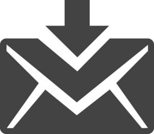 Inbox Glyph Icon