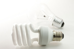 Incandescent And Fluorescent Energy Saving