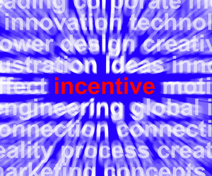 Incentive Word Meaning Bonus Enticement Or Coercing