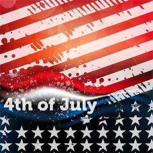 Independence Day Grunge Design