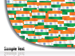 Independence Day Indian Flags