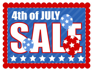 Independence Day Sale Template Vector