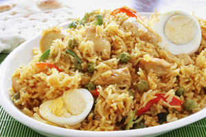 Indian Biryani Rice Curry