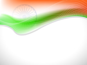 Indian Flag Wave.