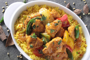 Indian Jalfrezi Curry