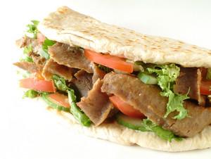 Shish Kofte Kofta Tikka Flat Bread Wrap