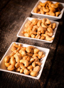 Cashews In Dishes