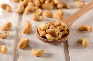 Cashew Nuts On The Table